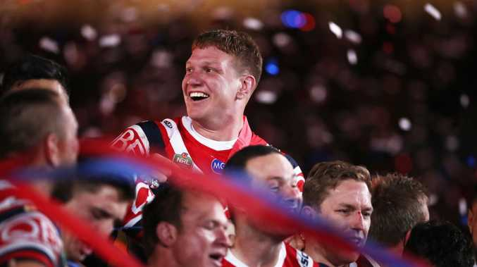 Dylan Napa during happier times in Roosters colours. Picture: Getty Images