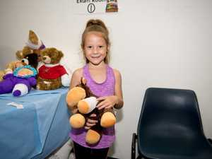 Pyper Donnelly, 6, helped a patient who hurt himself