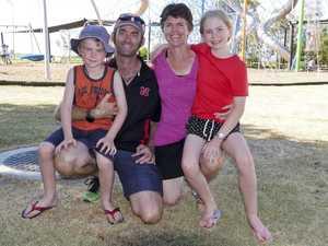 Elliott, 6, Nathan, Ruth and Abbagail, 9, Cahill at