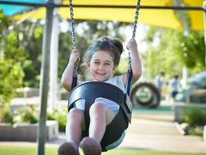 Lara, 4,at Lions park.