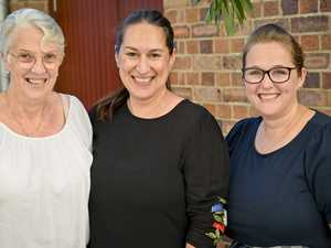 Margaret Bodetti, Donna Smith and Kerryn Costello at
