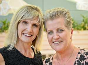 Connie McKee and Roxanne Workman at the Ipswich Women