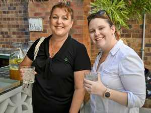 Lisa Duffy and Nikki Reggett at the Ipswich Women in