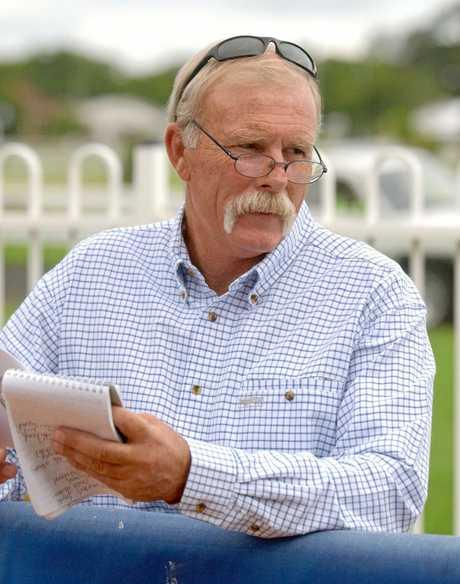FAREWELL: Racing writer Tony White.