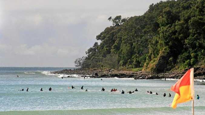 SURF CULTURE: Surfers flock to Noosa Main Beach.