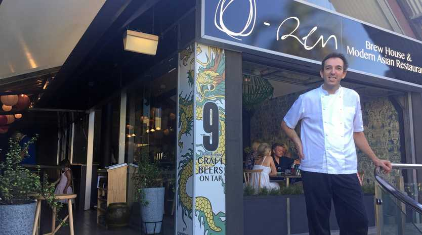 NEW: Head chef Leigh Darlington outside O-Ren Brewhouse and Modern Asian Restaurant .