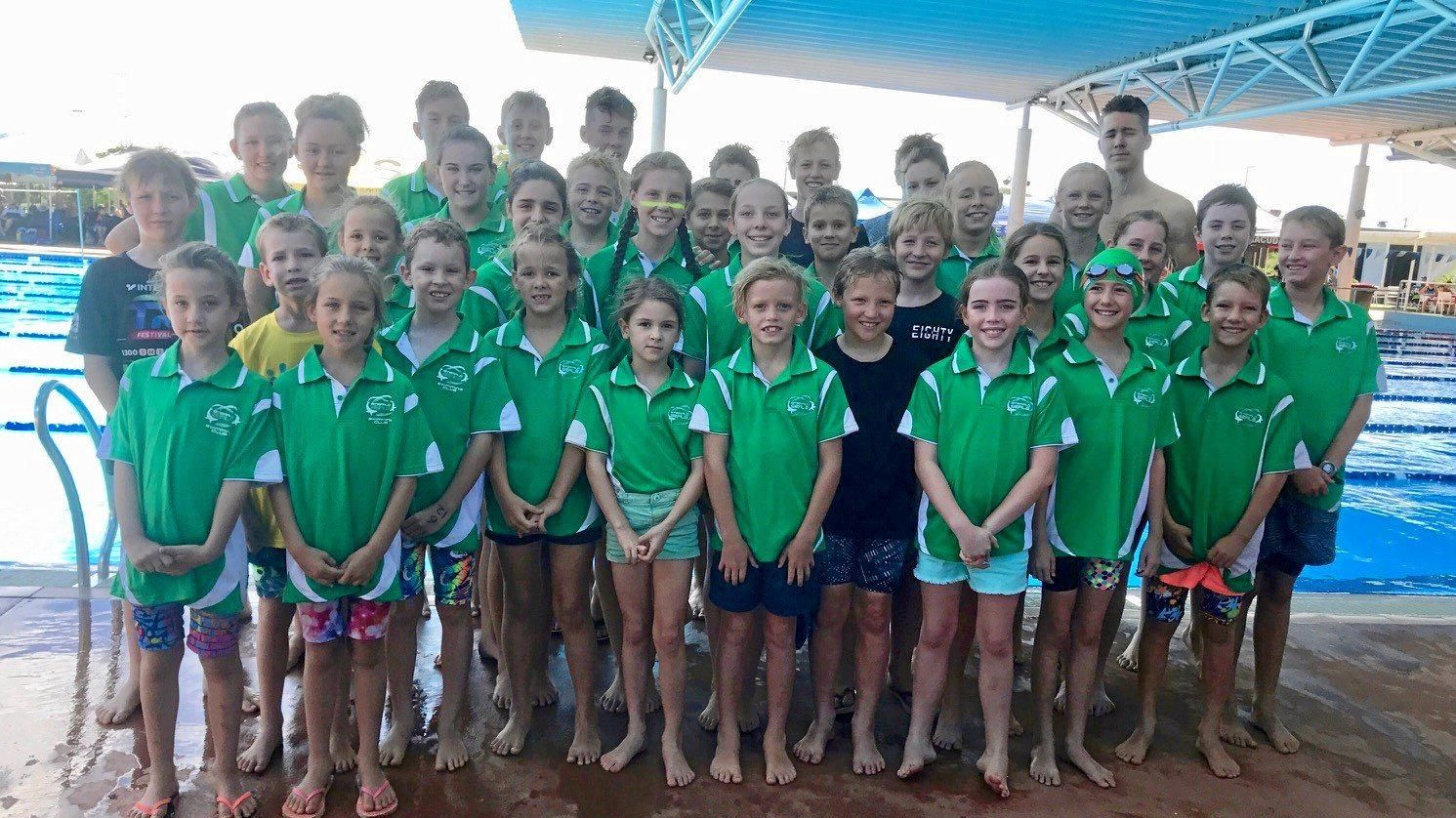 TEAMWORK: The Emerald Seals competed at the CQ Sprints Championships in Blackwater last Saturday.