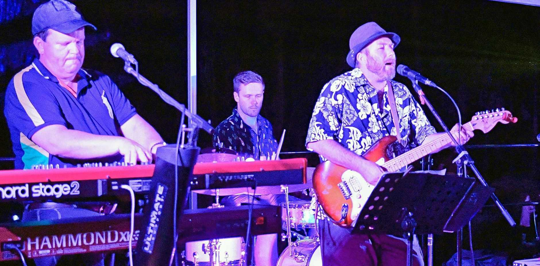 The Easy Tigers will be playing at the Rocky Glen Hotel on Saturday night.