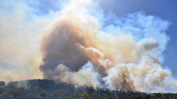 Central Highlands bushfires are still burning