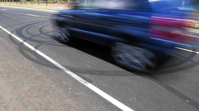 A GLADSTONE man who tried to drift his Holden commodore on a sharp bend along Yarroon St is now $750 out of pocket and without a car.