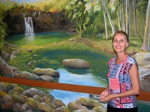 Mural brings light to palliative care ward