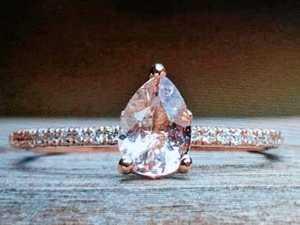 Genuine diamond ring stolen in Darling Heights break-in