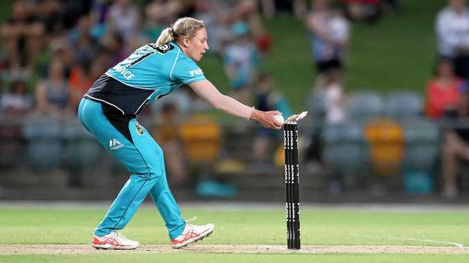 Brisbane Heat cricket semi came down to last ball