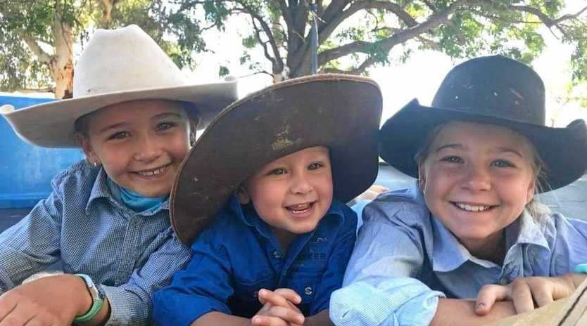 David McLean's beautiful children William Charlotte and Chloe have been separated from their Dad since the blaze took his only means of transport to and from home.