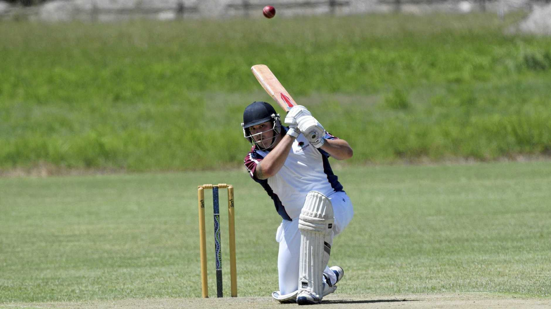 LEADING MAN: James Bellamy has been Diggers' leading batsman this season and will be seeking a big score this weekend against Star Hotel.