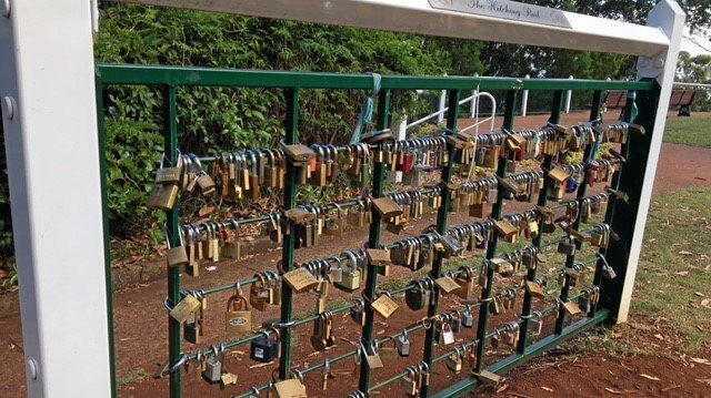The amazing stories behind city's love lock craze