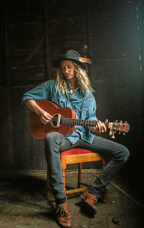 TOURING: Musician Dan White is the frontman of Margaret River-based act Blue Child Collective.