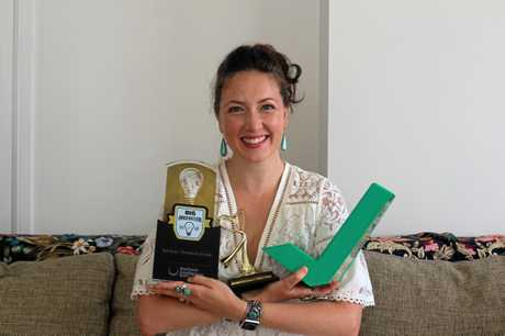 Julia Christie has won an impressive amount of awards since starting her business Nail Snail.