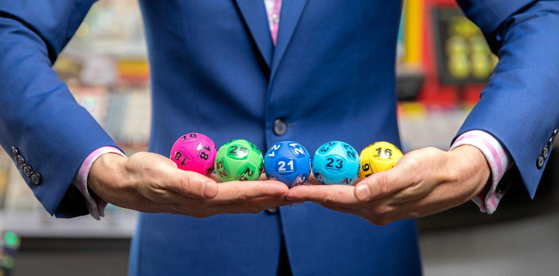 FEELING LUCKY: Prof Roberts says the fantasy of a lotto win keeps us going.