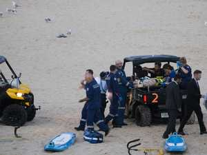 Man critical after Bondi swim