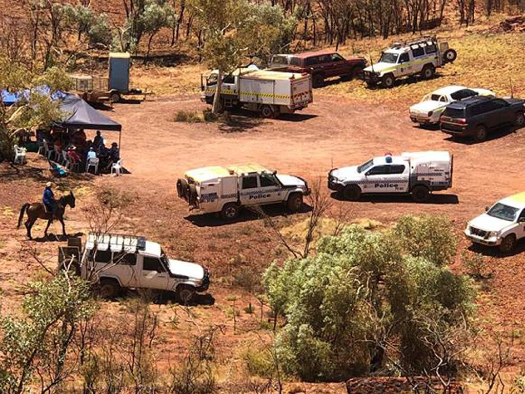 Dozens of police and volunteers were involved in the search. Picture: WA Police