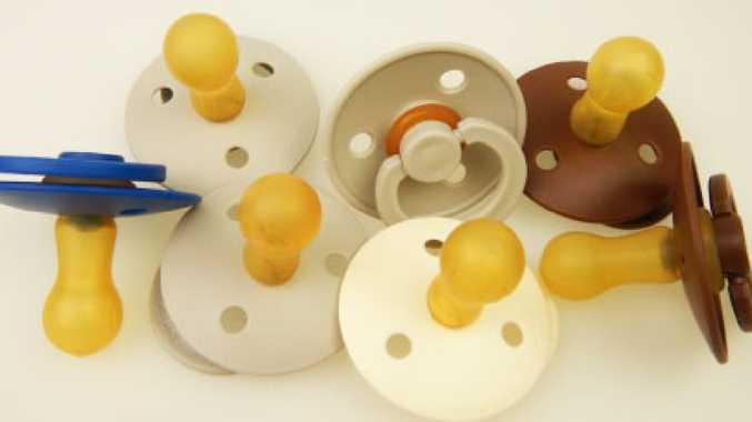 The 3 Little Birds BIBS baby dummies (above) have been recalled due to choke fears.