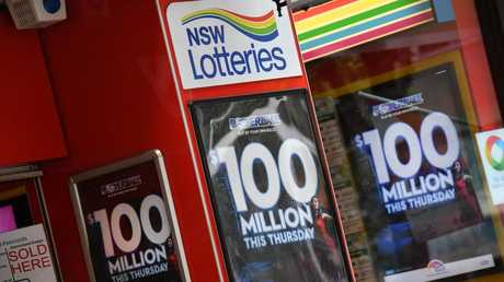 Powerball prize has grown to $100 million. Picture: Mick Tsikas/AAP