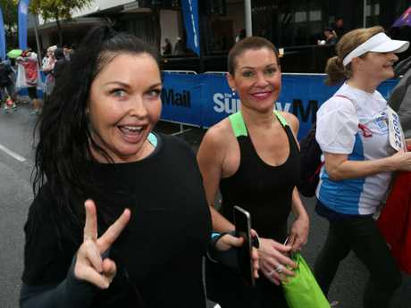 Schapelle enjoying life outside of prison during a fun run in 2018. Picture: AAP