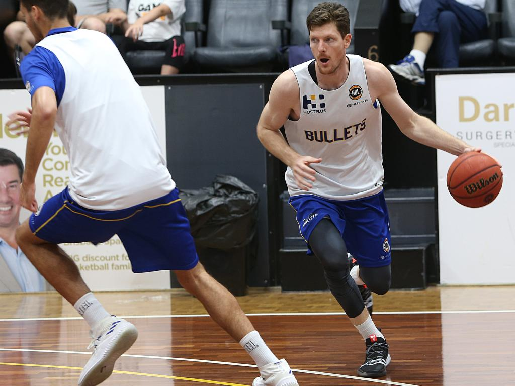 Cam Gliddon is second in the NBL for three-pointers made this season, but has been cold against the Taipans.