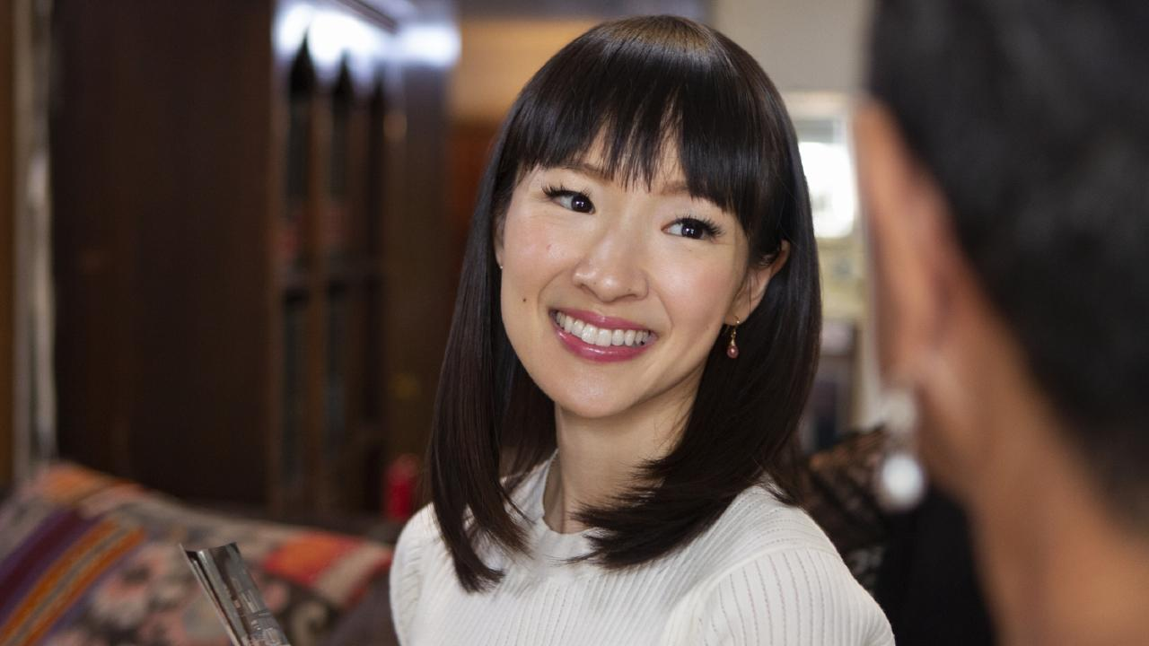 To some feminists, stars like Kondo are seen as sneaky weapons of the patriarchy. Picture: Netflix
