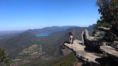 Aia Masarwe hiking in the Grampians before her death. Picture: Instagram
