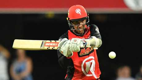 Tom Cooper looks to fire up the top order batsman for the Renegades. Picture by: AAP Image/Darren England