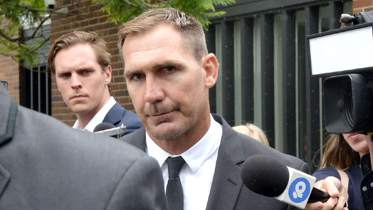 A conviction wasn't recorded against Scott Bolton after he pleaded guilty to common assault. Picture: Jeremy Piper.