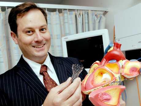 Cardiologist Dr Darren Walters.