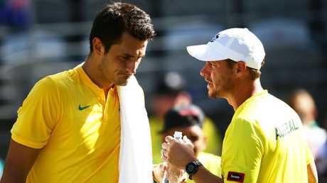 The Australian Open has been overshadowed by in-fighting