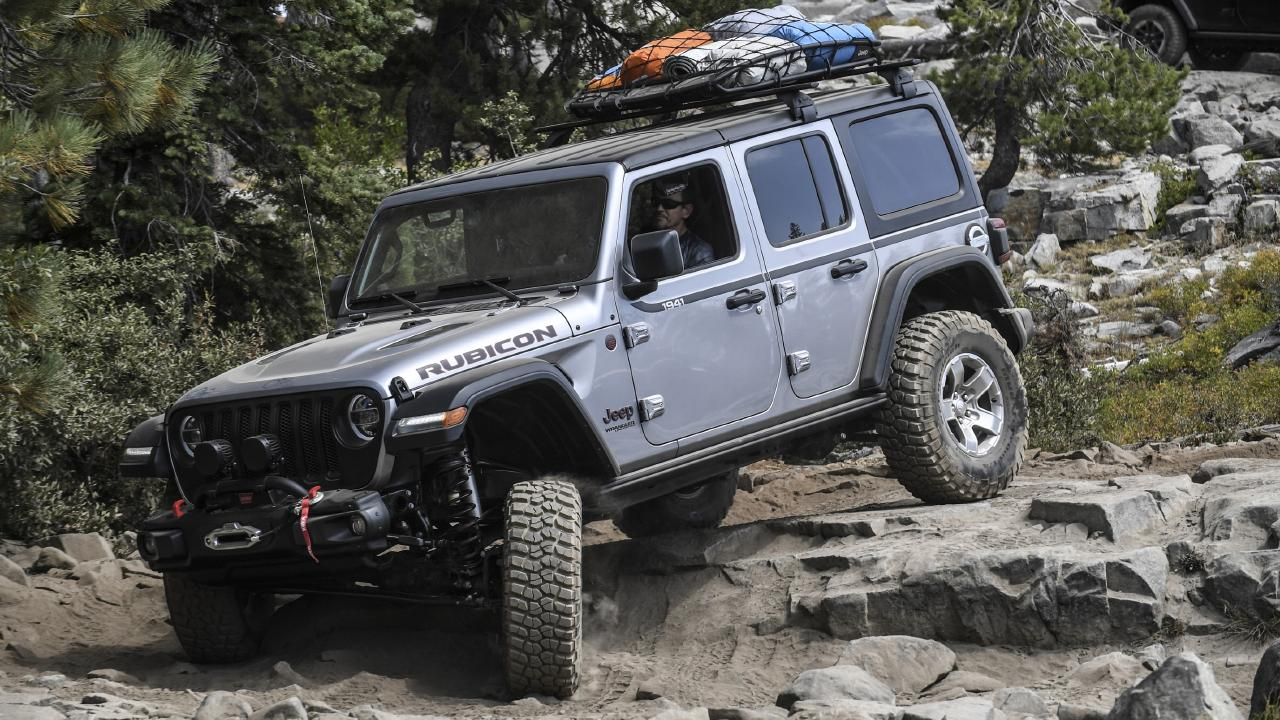 The new Jeep Wrangler replaces the 11-year-old version.