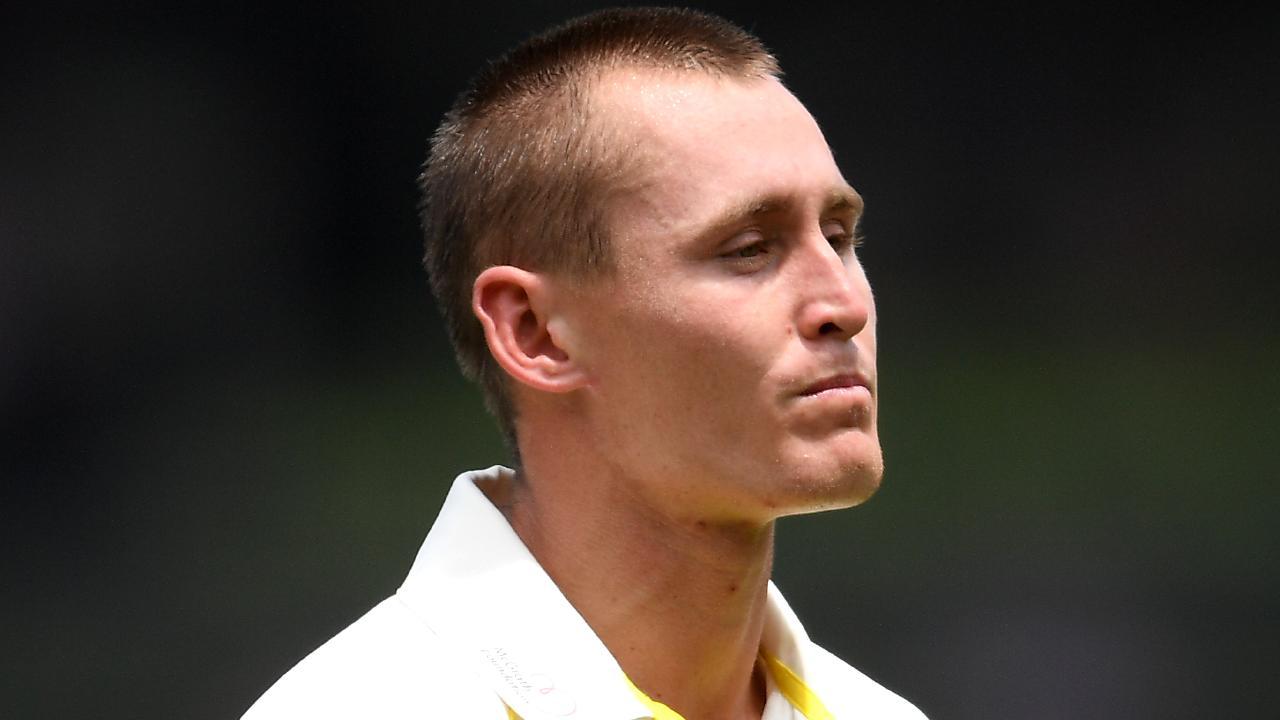 Marnus Labuschagne failed to impress against Sri Lanka. AAP Image/Dan Himbrechts