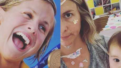 Libby Trickett: From Olympic gold medal to mum duties.