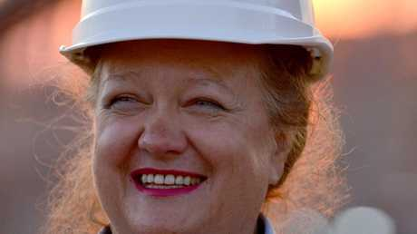 Gina Rinehart retains her spot at the top of the Aussie list.
