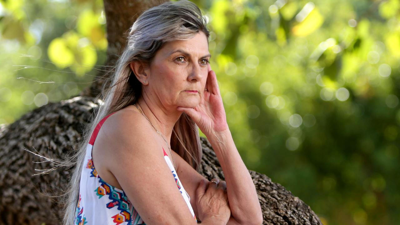 Sharon Tomlinson, who was raped at gunpoint by Fardon when she was just 12, is now living in fear after her attacker was released. Picture: AAP/Steve Pohlner