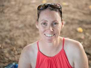 Stacey Cochrane at Eimeo Beach.