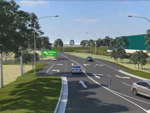 RMS Animation of the new Pacific Highway access road
