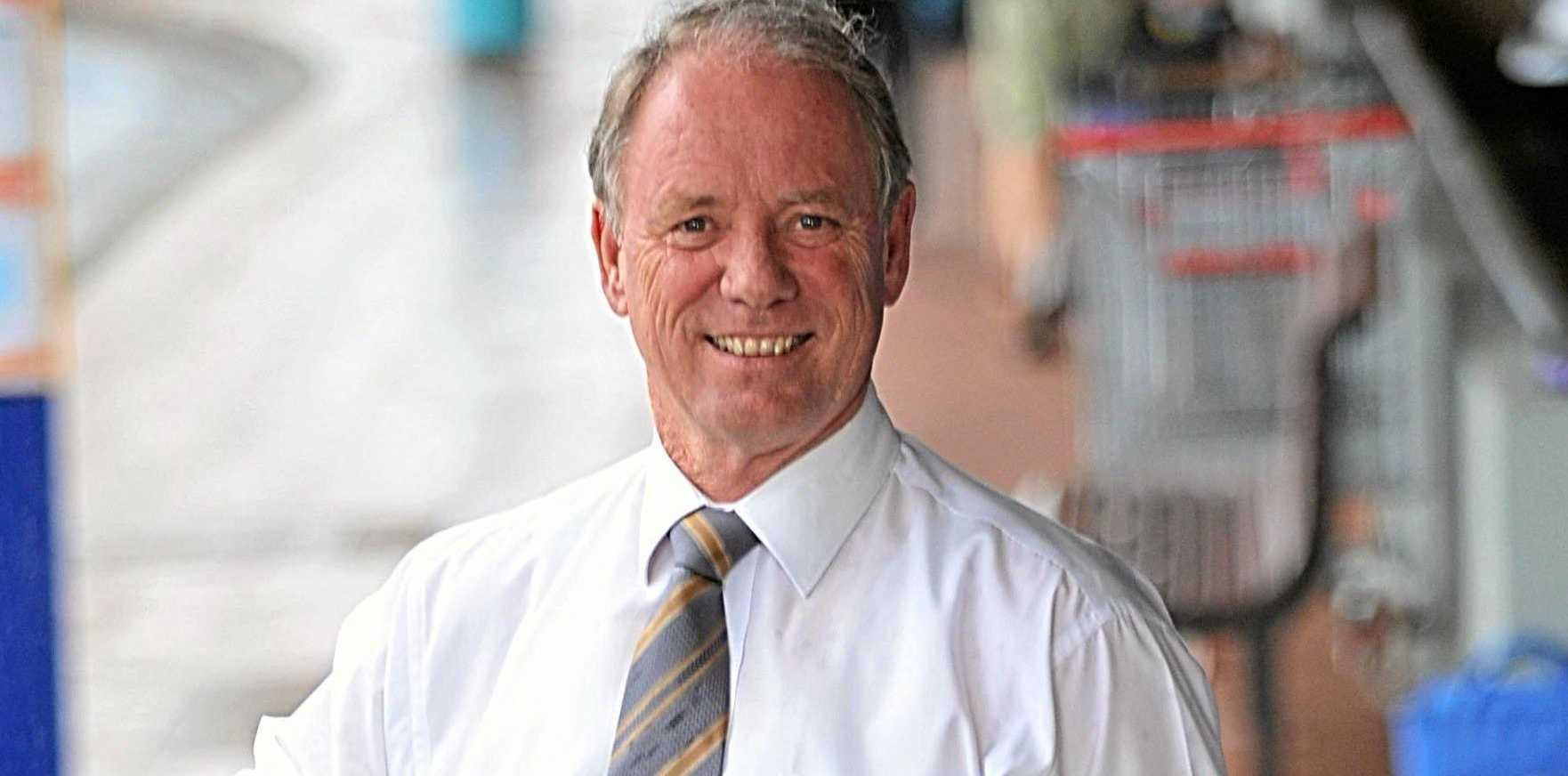 NEW LIFE STAGE: Retiring Member for Coffs Harbour Andrew Fraser.