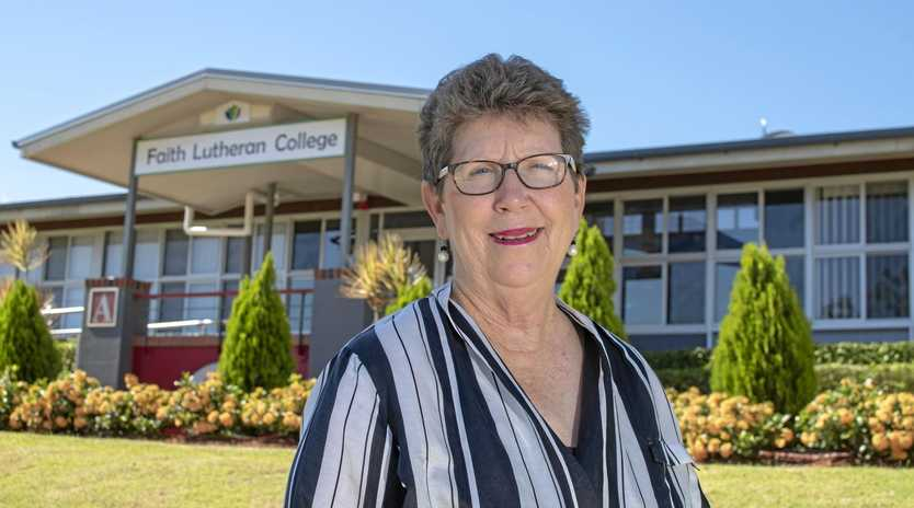WELCOME 2019: Faith Lutheran College principal Janelle Anderson looks forward to this year.