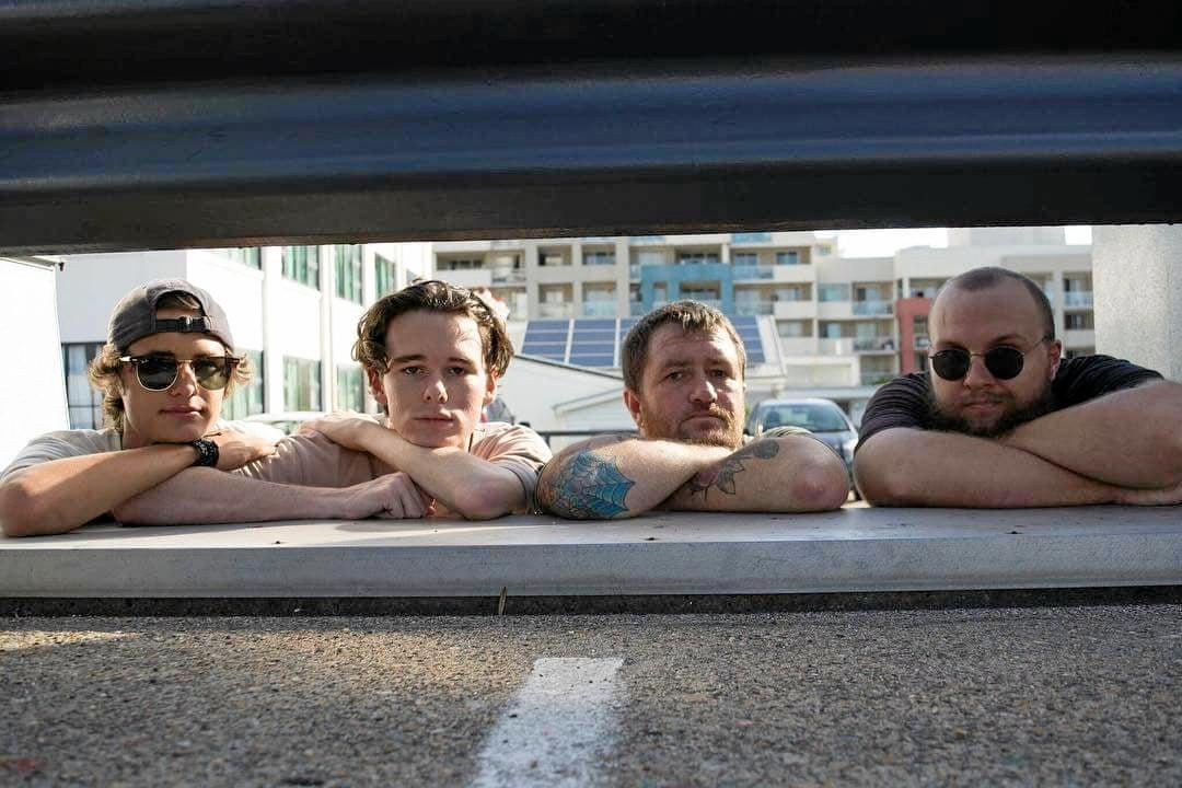 GOOD VIBES ONLY: The Brisbane-based four-man band, Ban Solo, is making its way to town next month for Melon Festival.