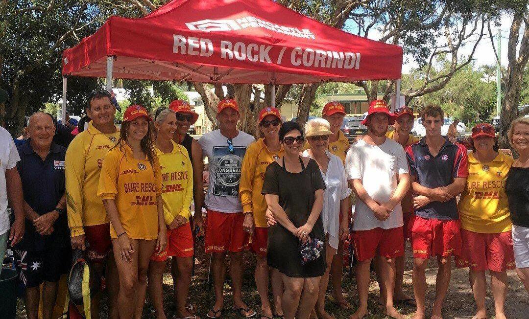 UNITED: The Red Rock/Corindi Surf Life Saving Club.