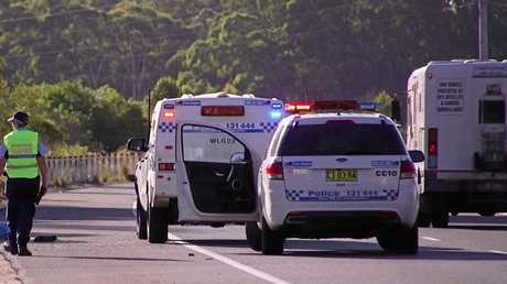 A motorcyclist has died after an incident at the Woopi bypass.