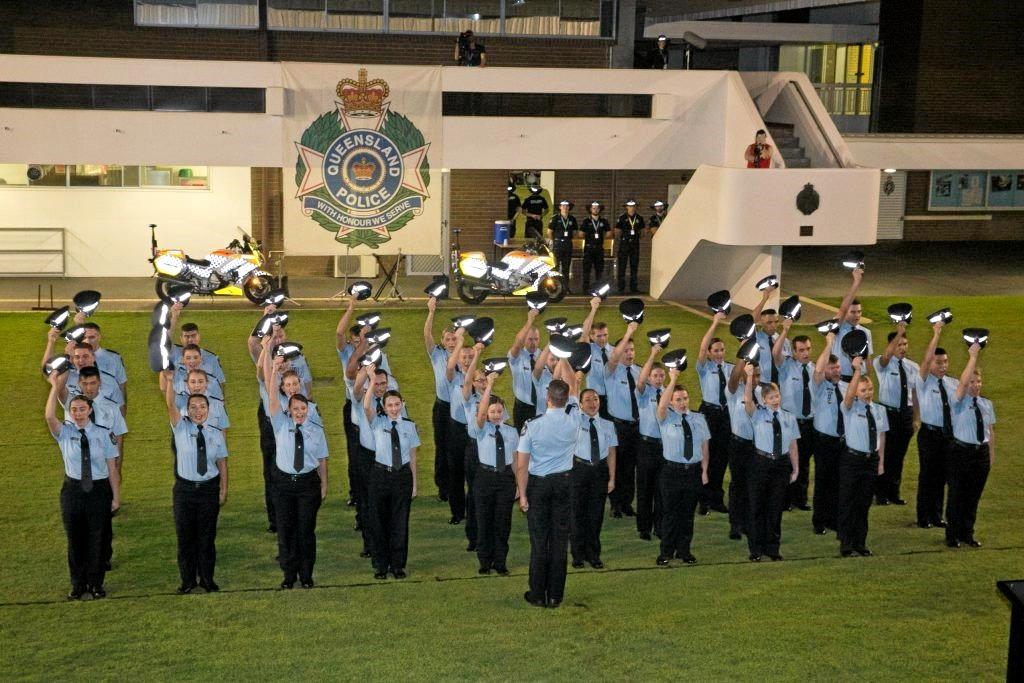 SWORN IN: Twenty out of 78 recently graduated officers will be deployed across Central Queensland.