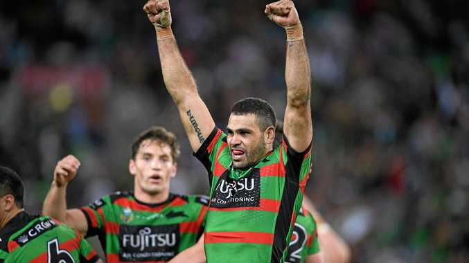 Greg Inglis has laid out his future to South Sydney fans. Picture: Dan Himbrechts/AAP