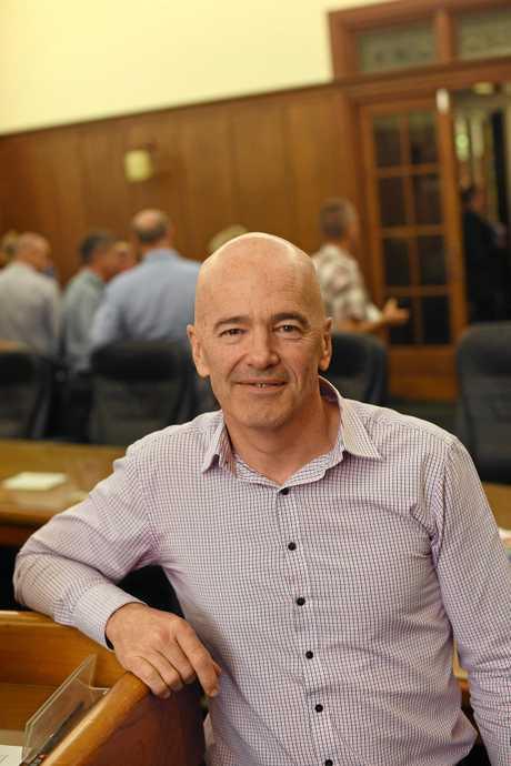 Gympie Council CEO Bernard Smith.